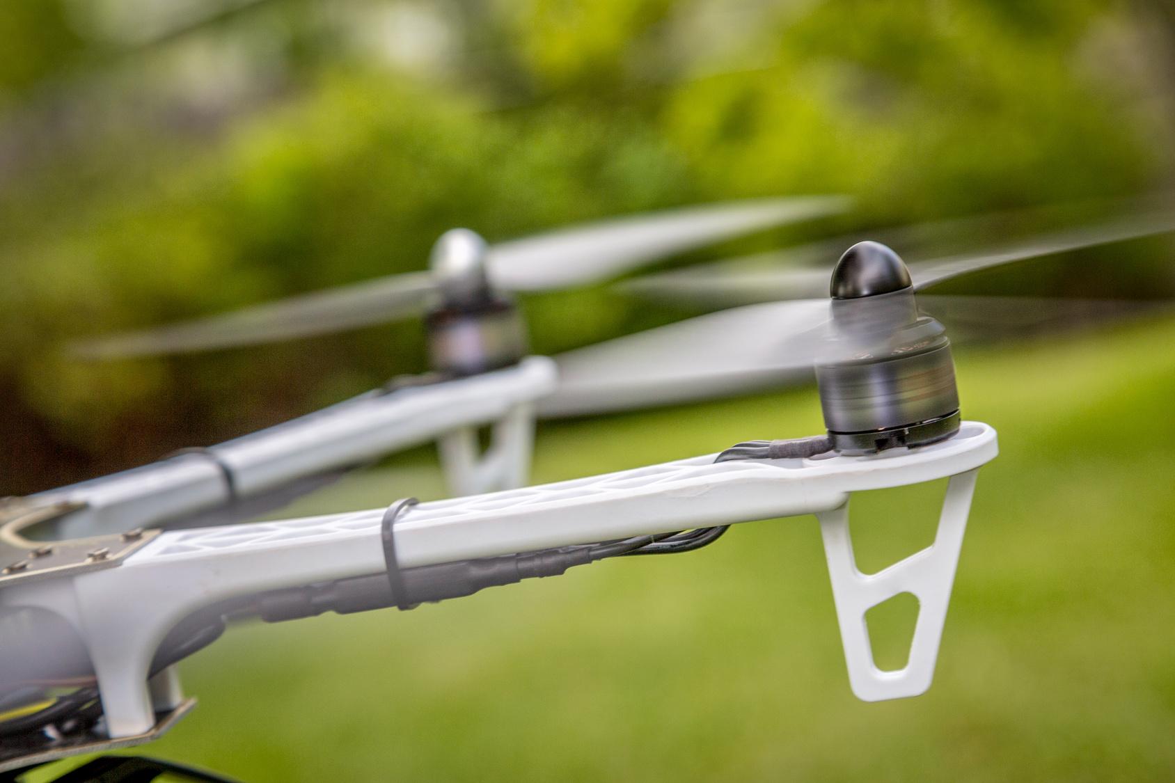 Sperimentazione sui Droni