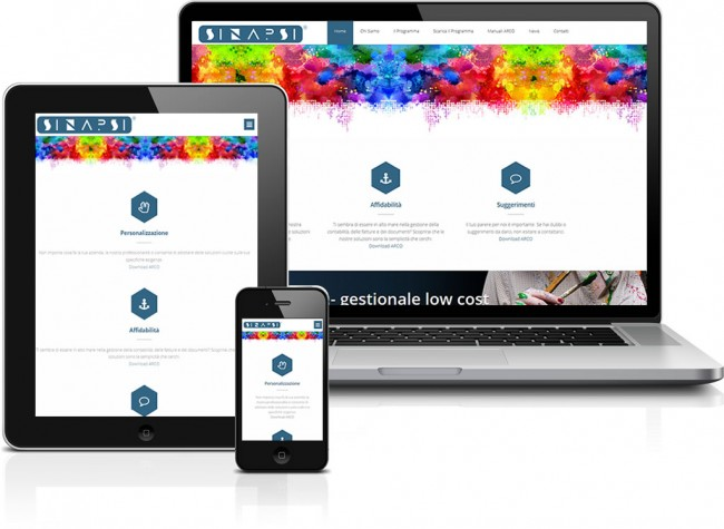 sviluppo sito web responsive